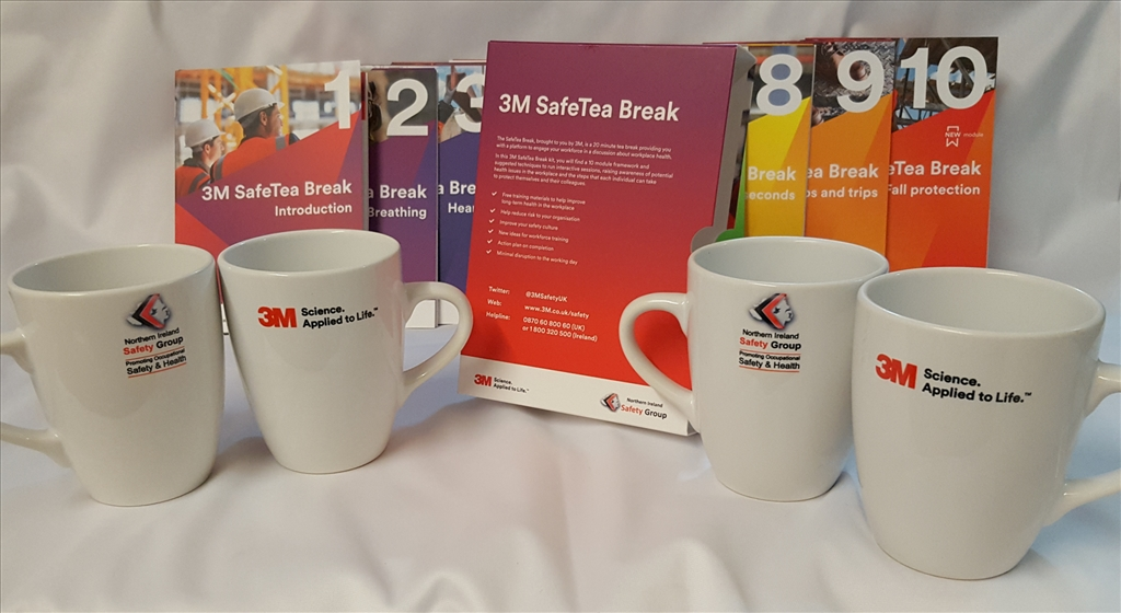 Launching the 3M/NI Safety Group 2019 SafeTea Break Initiative