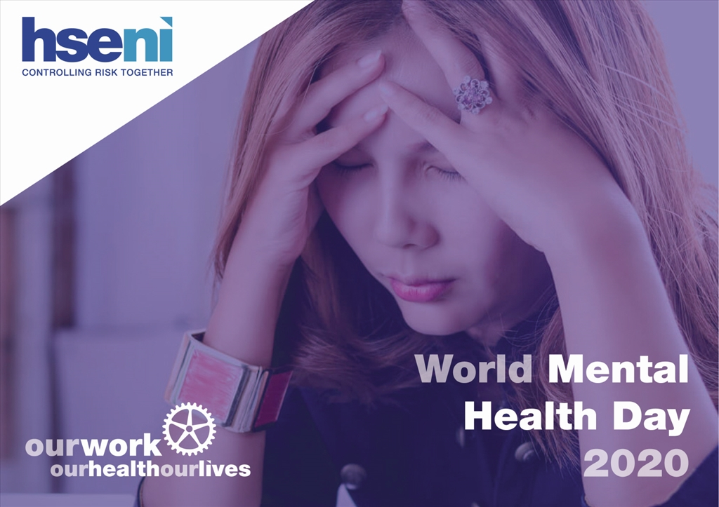 On World Mental Health Day HSENI offers employers help with how to effectively manage work related stress